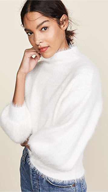 Line & Dot Пушистый свитер Alder