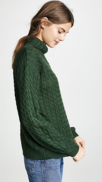 Line & Dot Juniper Cable Knit Sweater