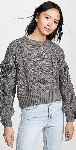Line & Dot - Jasper Fringe Sweater