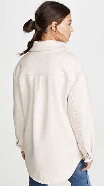 Line & Dot Drew 羊毛混纺夹克