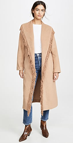 Line & Dot - Linda Fringe Coat