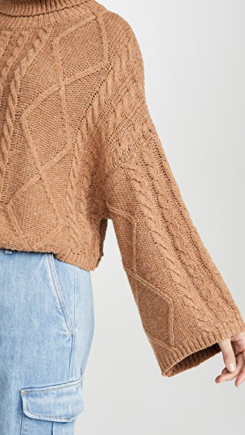 Line & Dot Kate Cropped Sweater