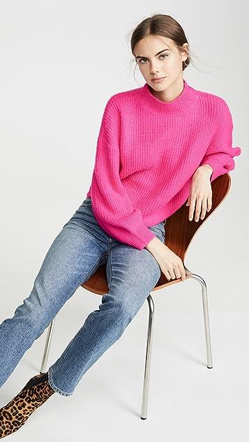 Line & Dot Ruby Sweater