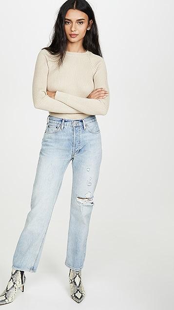 Line & Dot Alyssa 罗纹毛衣