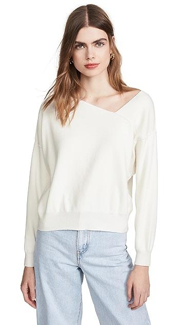 Line & Dot Favorite Off Shoulder Sweater