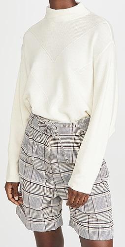 Line & Dot - Madeline Mock Neck Sweater