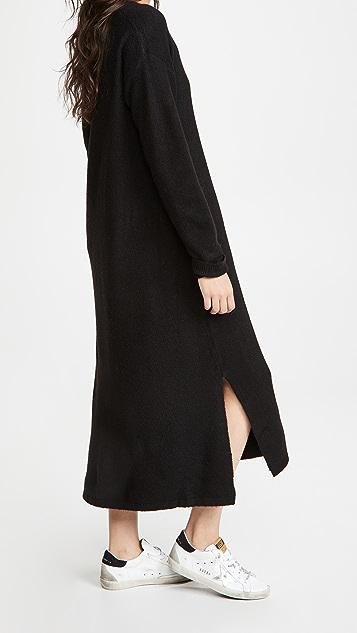 Line & Dot Calli 毛衣连身裙