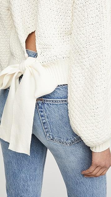 Line & Dot James Tie Back Sweater