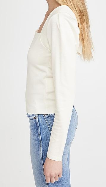 Line & Dot Monroe 背面绑带上衣