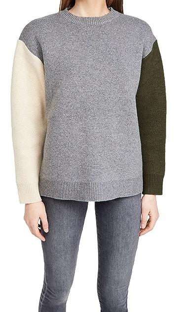 Line & Dot Dani Colorblock Sweater