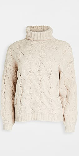 Line & Dot - Aimee Cable Knit Sweater