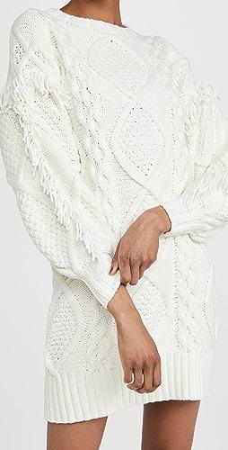 Line & Dot - Jasper Fringe Dress