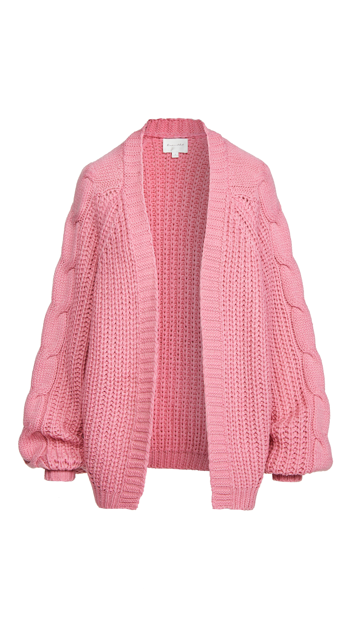 Line & Dot Bailey Cable Knit Cardigan