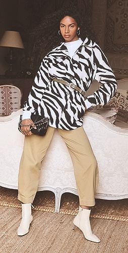 Line & Dot - London Zebra Shirt Jacket