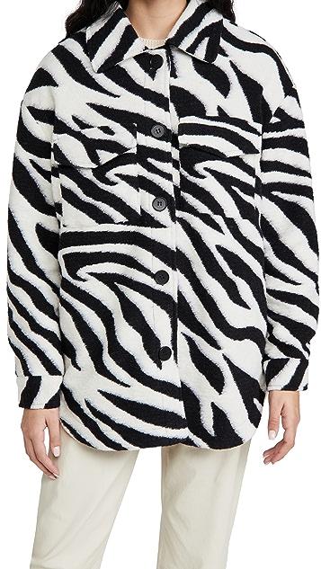 Line & Dot London Zebra Shirt Jacket