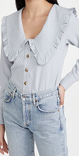 Line & Dot - Nikki 圆点女式衬衫
