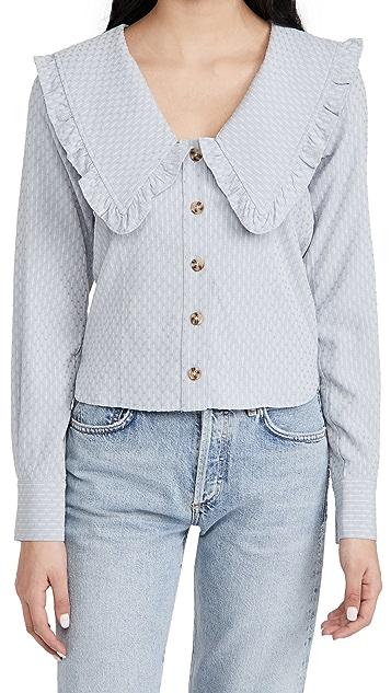 Line & Dot Nikki 圆点女式衬衫
