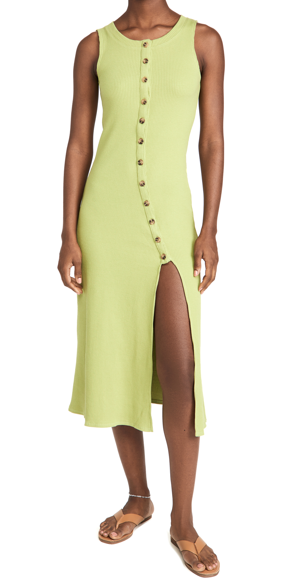 Rue Knit Button Front Dress