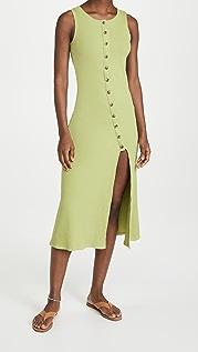 Line & Dot Rue Knit Button Front Dress