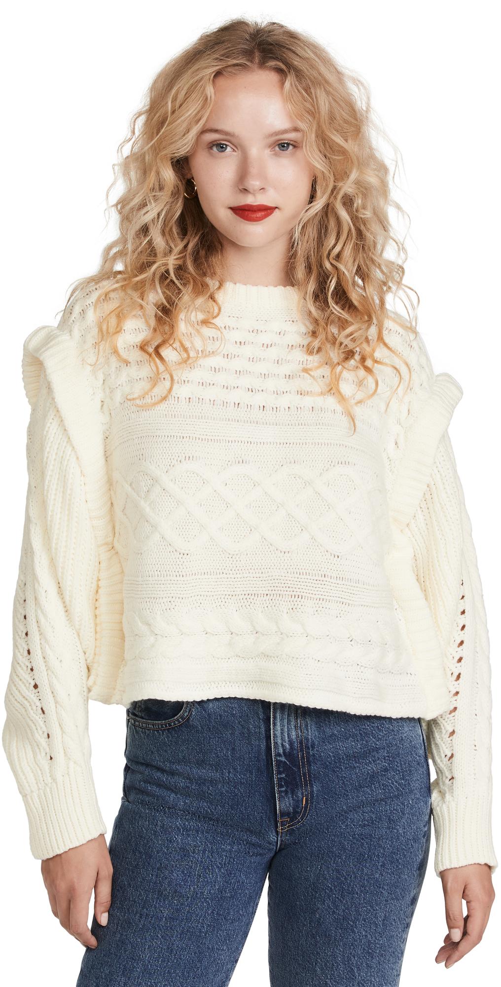 Mckenzie Balloon Sleeve Sweater