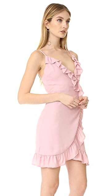 Lioness Caliente Ruffle Dress
