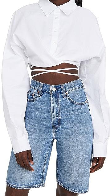 Lioness Hideaway Crop Shirt 10 Spring wardrobe essentials