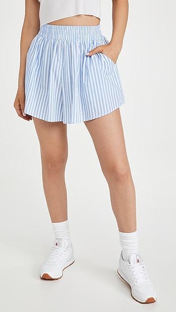Lioness 男友风格短裤