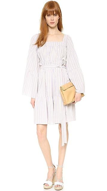 Lisa Marie Fernandez Short Peasant Dress