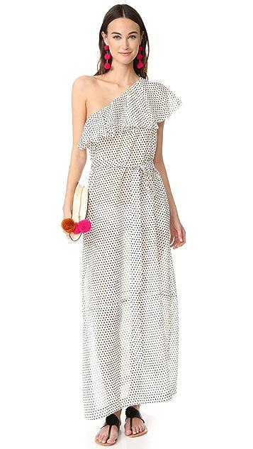 Lisa Marie Fernandez Arden Flounce Dress