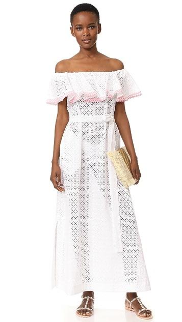 Lisa Marie Fernandez Mira Flounce Dress