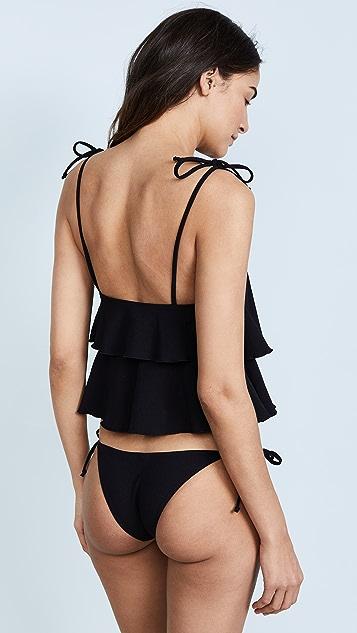 Lisa Marie Fernandez Imaan Ruffle Bikini