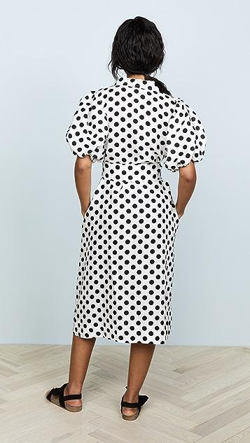 Lisa Marie Fernandez Linen Shirtdress