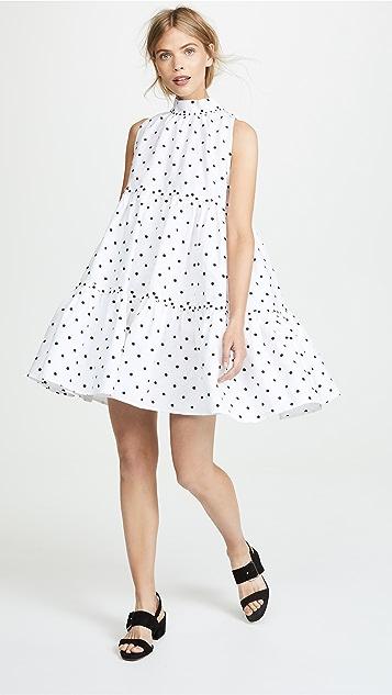 Lisa Marie Fernandez Erica Mini Tier Dress