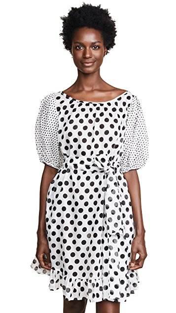 Lisa Marie Fernandez Sheer Mini Prairie Dress