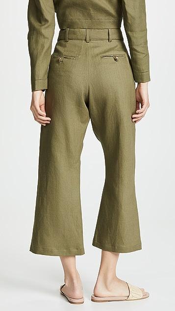Lisa Marie Fernandez Belted Pants