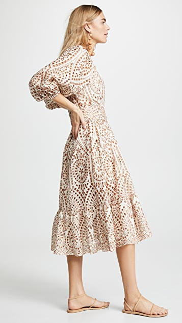 Lisa Marie Fernandez Laure Eyelet Dress
