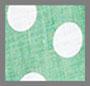 Green/White Polka Dot