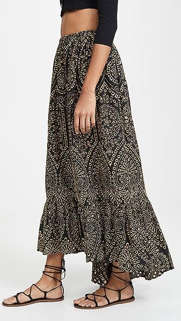Lisa Marie Fernandez Nicole 圆孔半身裙