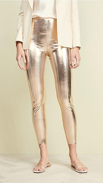 Lisa Marie Fernandez Karlie Leggings - White Gold