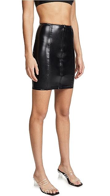 Lisa Marie Fernandez Zip Skirt