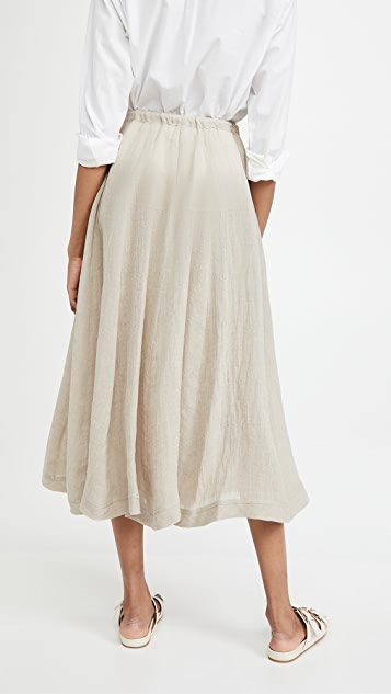 Lisa Marie Fernandez Yasmin 束带半身裙