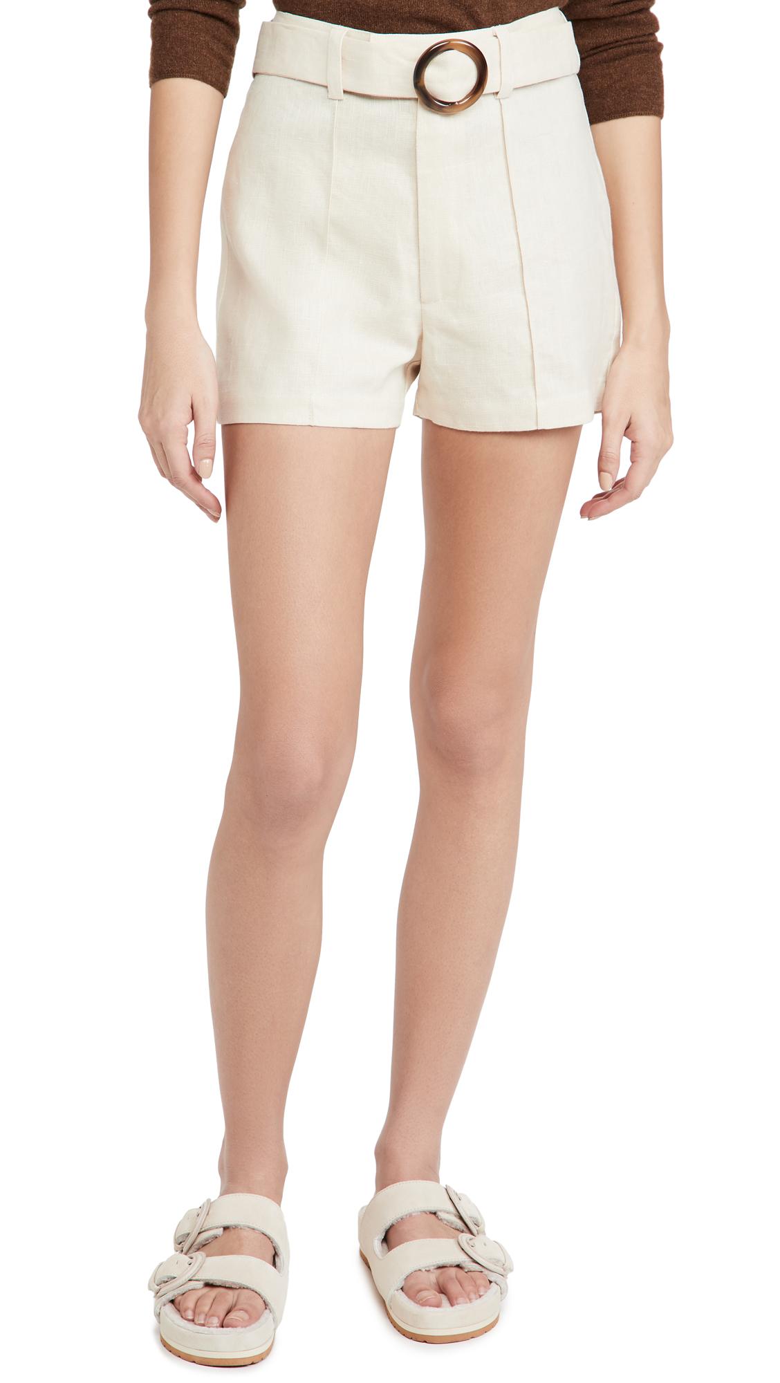 Lisa Marie Fernandez Belted Shorts