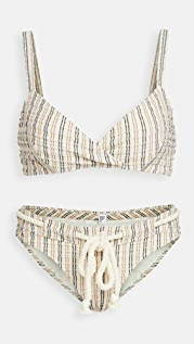 Lisa Marie Fernandez Yasmin Drawstring Bikini