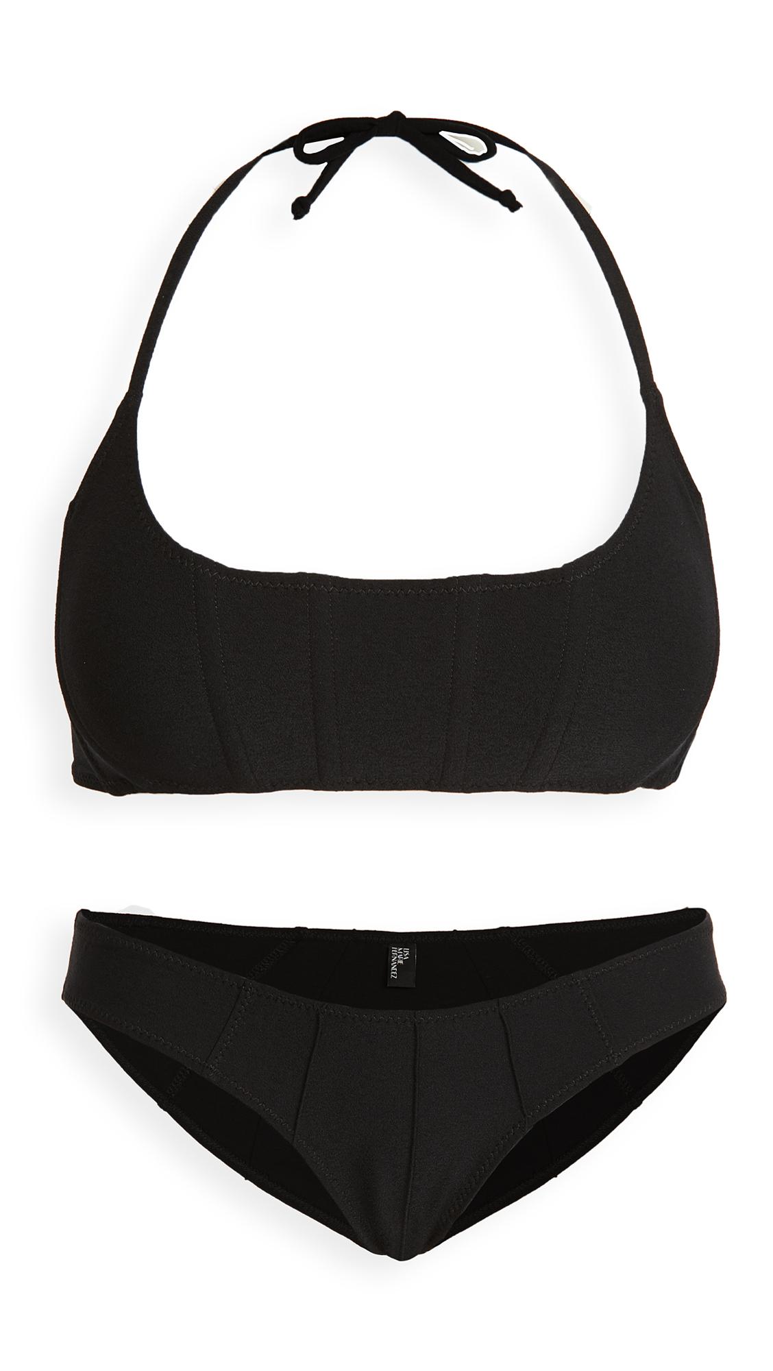 Lisa Marie Fernandez Corset Bikini Set