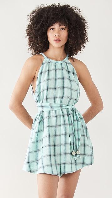 Lisa Marie Fernandez 方巾式短款连身衣