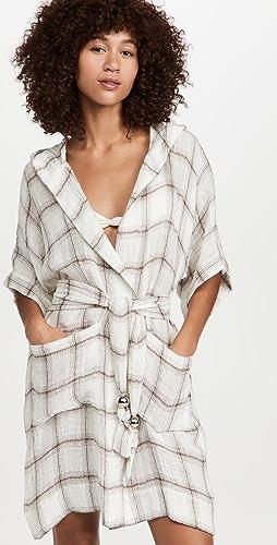 Lisa Marie Fernandez - Hooded Dressing Mini Gown