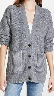 LISA YANG Joy 开司米羊绒开襟衫