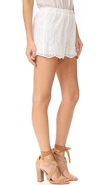 LIV Ellis Eyelet Shorts