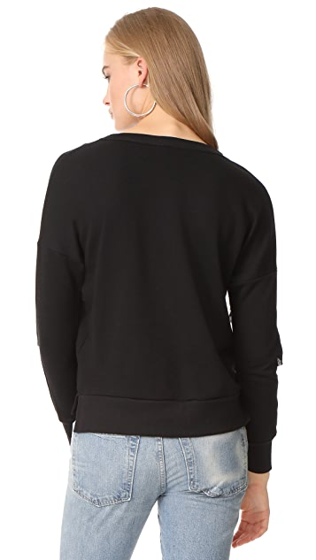 LIV Empire Ruffle Sweatshirt
