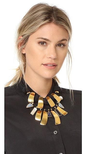 Lizzie Fortunato Bib Necklace